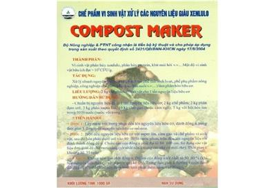 Chế phẩm Compost Maker